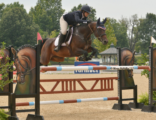 Matthias Hollberg and Lauren Hester Speed to Top Placings in Rolex Stadium During Kentucky Summer Classic